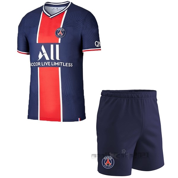 Home Conjunto De Bambino Paris Saint Germain 2020 2021 Blu Tute Da Calcio
