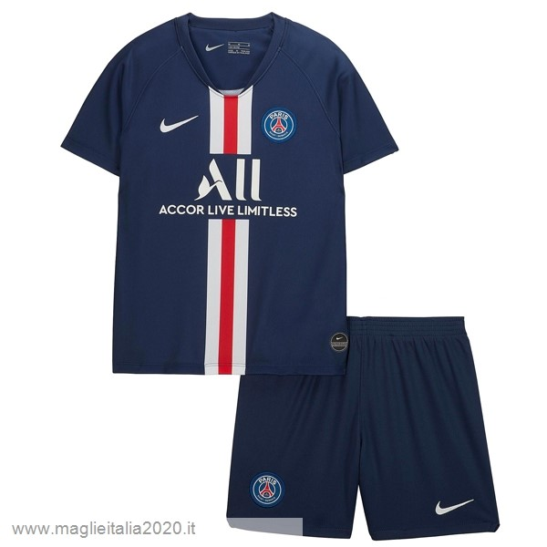 Home Conjunto De Bambino Paris Saint Germain 2019 2020 Blu Tute Da Calcio